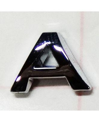 Lettre adhésive chromée A