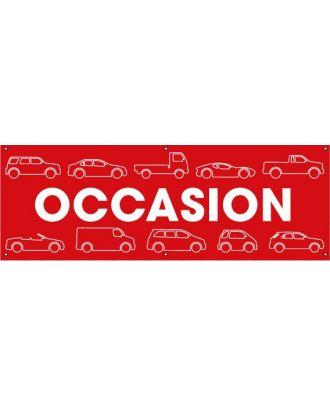 Banderole Occasion PVC VHCS
