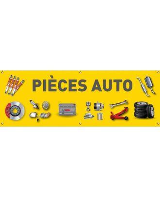 Banderole pièces auto PVC