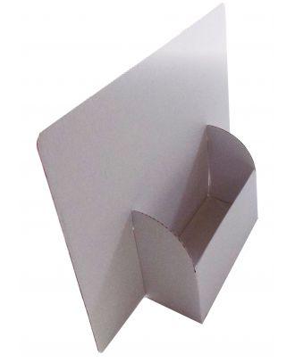 Présentoir de comptoir carton A5 vierge PNLARGA5 de coté