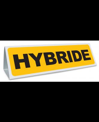 Triangle magnétique de toit Hybride coloris jaune et noir