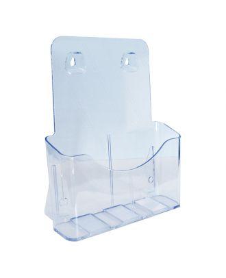 Présentoir plexiglas A4 1 compartiment ASK156 de côté