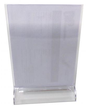 Porte visuel A5 vertical PPK6048 avec visuel inséré