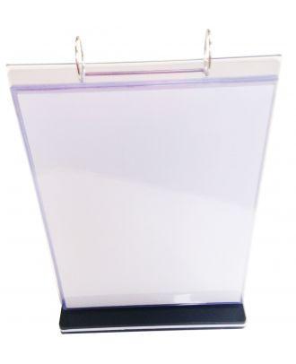 Distributeur visuel A4 vertical PPK6101 dans emballage plastique de face