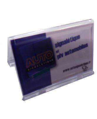 Porte carte de visite plexiglas 85 x 54 mm ASK769