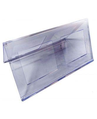 Porte nom plexiglas 150 x 297 mm PPK778