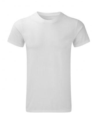T-shirt HD polycoton blanc personnalisé